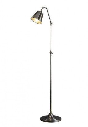 Emac & Lawton Newbury Floor Lamp Antique Silver