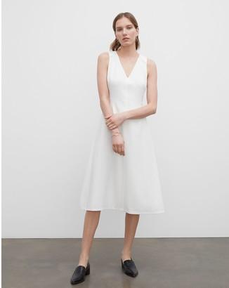 Club Monaco V-Neck Sleeveless Dress