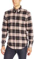 Naked & Famous Denim Men's Brushed Vintage Plaid Button Down Shirt