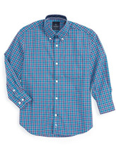 Tailorbyrd Plaid Woven Dress Shirt (Big Boys)