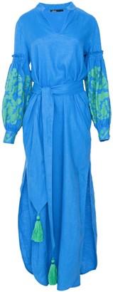 Devotion Tanja Blue Long Dress - M