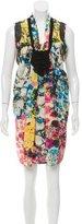 Sachin + Babi Embroidered Silk Dress