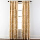 Royal Velvet Supreme Damask Pinch Pleat/Back-Tab Curtain Panel