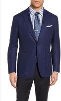 Pal Zileri Men's Classic Fit Wool & Mohair Blazer