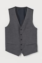 H&M Slim Fit Suit Vest - Gray