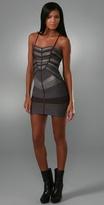 Runway Chevron Bandage Dress