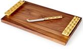Michael Wainwright Truro Wood Cheese Board with Knife
