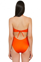 Caffe Swimwear - Sexy Cut Out One Piece In Bright Orange
