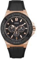 Guess W0674g6 Men`s Rubber Strap Sport Watch