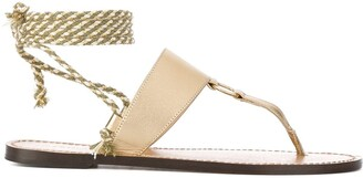 Tila March rope T-bar Bilbao sandals