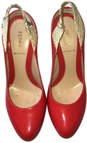 Fendi Red Patent leather Heels