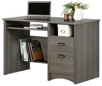 Three Posts Ellenburg Desk Color: Gray Maple