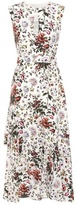 Erdem Floria printed silk midi dress
