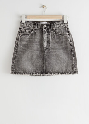 And other stories Denim Mini Skirt