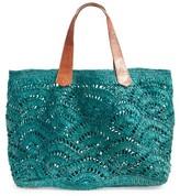 Mar y Sol Tulum Tote - Blue/green