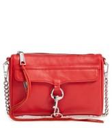 Rebecca Minkoff Mini MAC Convertible Crossbody Bag - Red