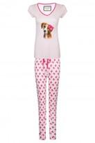Select Fashion Fashion Womens Multi Dog Pj Set - size 10