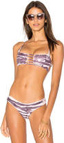 Bettinis Pull Over Bralette Top in Purple. - size L (also in M,S,XS)