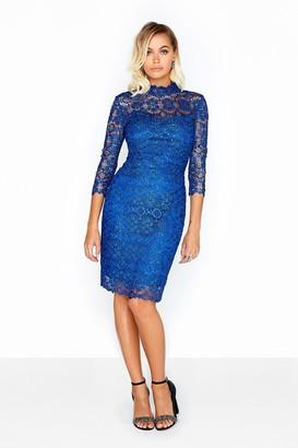 Paper Dolls Cobalt Lace Dress