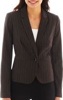 WORTHINGTON Worthington Essential 1-Button Blazer - Petite