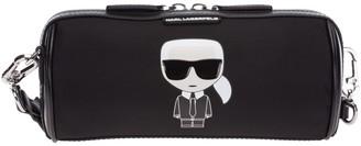 Karl Lagerfeld Paris K/Ikonik Barrel Bag
