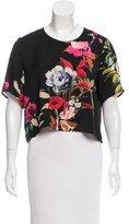 Mason Floral Print Short Sleeve Top
