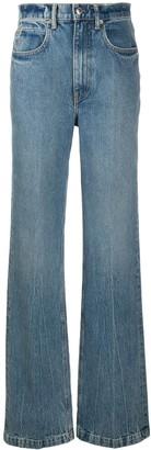 Alexander Wang High-Waisted Wide Leg Jeans