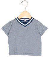 Petit Bateau Boys' Striped Short Sleeve Shirt