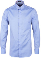 Paul & Shark Powder Blue Long Sleeve Oxford Shirt