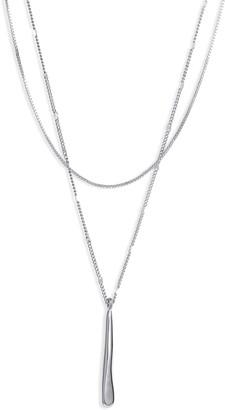 Jenny Bird Layered Pendant Necklace
