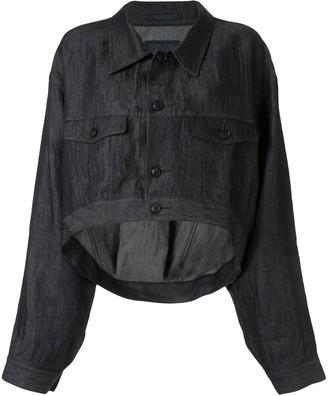 Yohji Yamamoto Lightweight Cropped Jacket