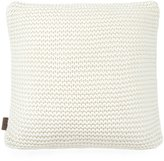 UGG Snow Creek Chunky-Knit Feather Pillow