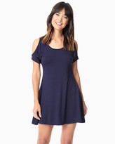 Charming charlie Cold Shoulder Trapeze Dress