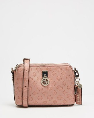 GUESS Ninnette Double Zip Cross-Body Bag