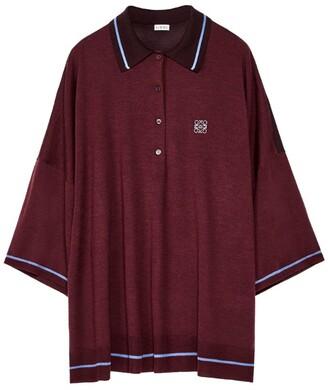 Loewe Anagram Polo Sweater