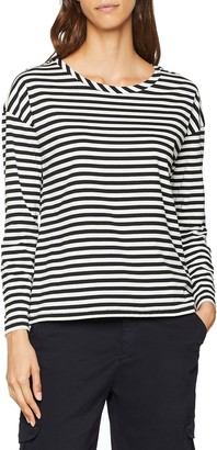French Connection Women's Tim Stripe Top