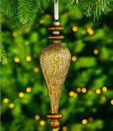 Southern Living Nostalgic Noel Collection Wood Grain Finial Ornament
