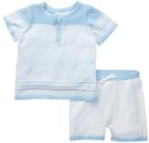 Angel Dear Castle Top & Short Set (Baby Boys)