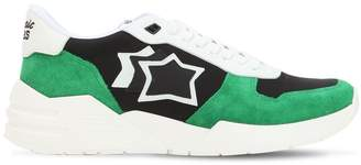 Atlantic Stars Mars Suede & Nylon Running Sneakers