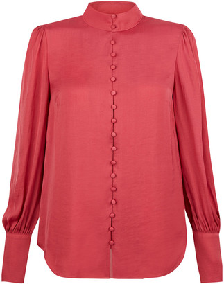 Under Armour Penny High Neck Blouse Pink