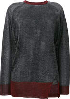 Zoe Karssen sheer shimmer sweater