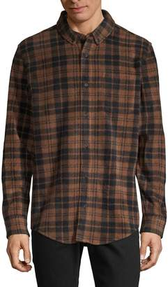 Threads 4 Thought Plaid Long-Sleeve Shirt