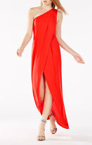 BCBGMAXAZRIA Dries One-Shoulder Gown