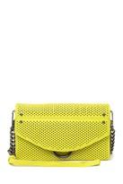 Aimee Kestenberg Delancey Leather Chain Wallet Crossbody