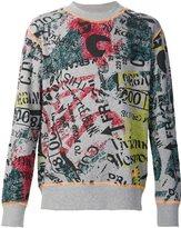 Vivienne Westwood graffiti print sweatshirt