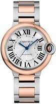 Cartier Ballon Bleu de 18K Rose Gold & Stainless Steel Bracelet Watch/36MM