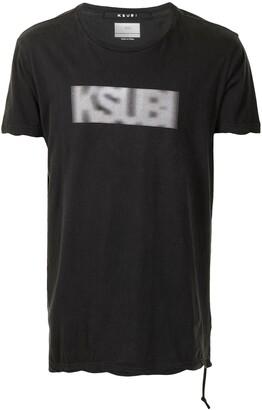Ksubi Bitmap Seeing Lines T-shirt