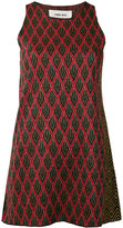 Circus Hotel diamond pattern tank top - women - Viscose/Polyester - 40