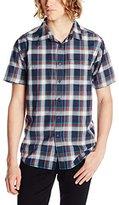 Billabong Men's Wales Short Sleeve Woven Shirt
