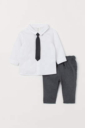 H&M Shirt and suit trousers